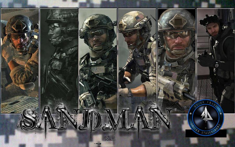 MW3 Sandman character in MW2 - YouTube