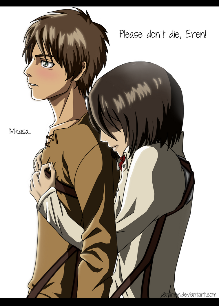 attack on titan mikasa and eren relationship advice