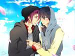 Stay by my side, okay? [Rinharu]
