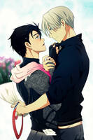 We did it! (Victuuri) by Daniimon