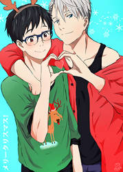 Merry Christmas~ (Victuuri) by Daniimon