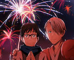 Happy New Year! (Victuuri)