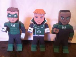 Green Lanterns by wackywelsh
