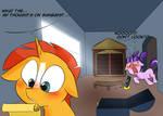 My little pony:Sunburst found something