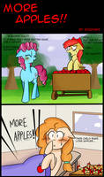 My Little Pon: More Apples... by zouyugi
