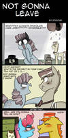My Little Pony: Not Gonna Leave by zouyugi