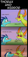 My Little Pony: Thorax and Mirror