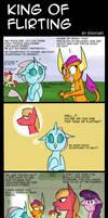My Little Pony: King of flirting
