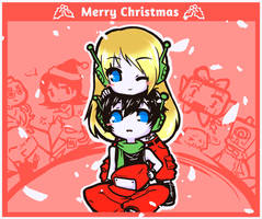 Merry Cave Christmas! by OzumaRyu