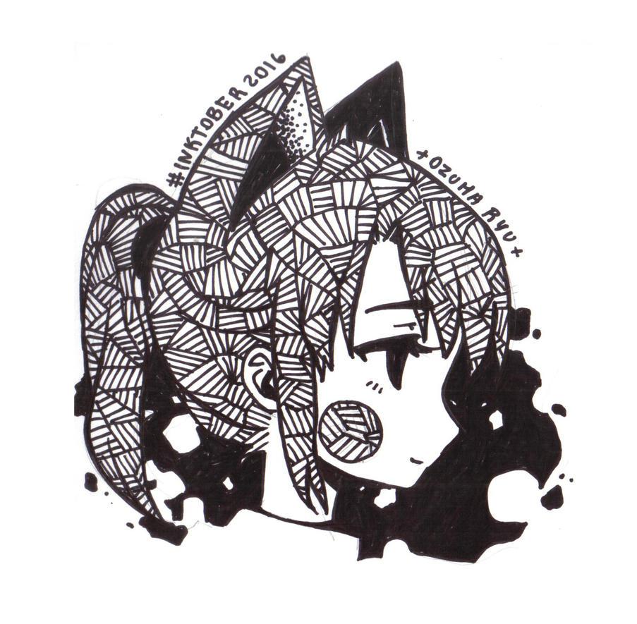 Inktober2016 ID by OzumaRyu