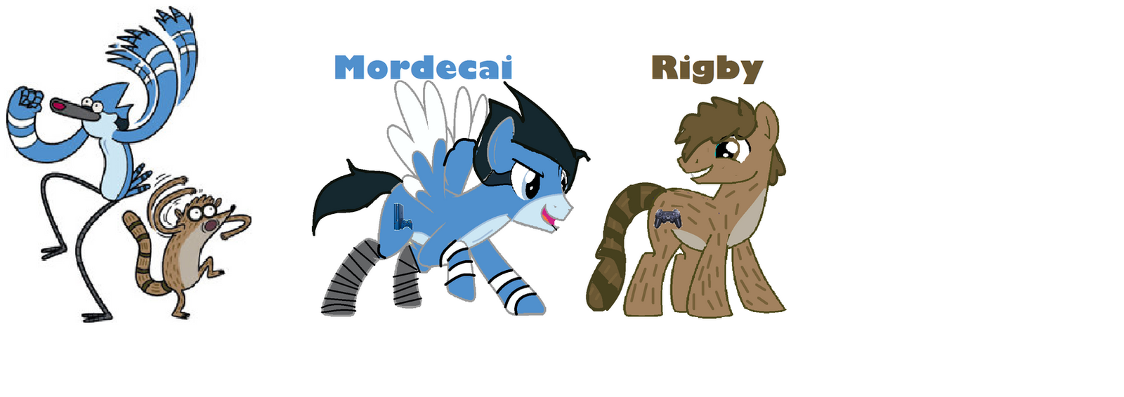 regular show as mlp characters by killerbeats36912 on