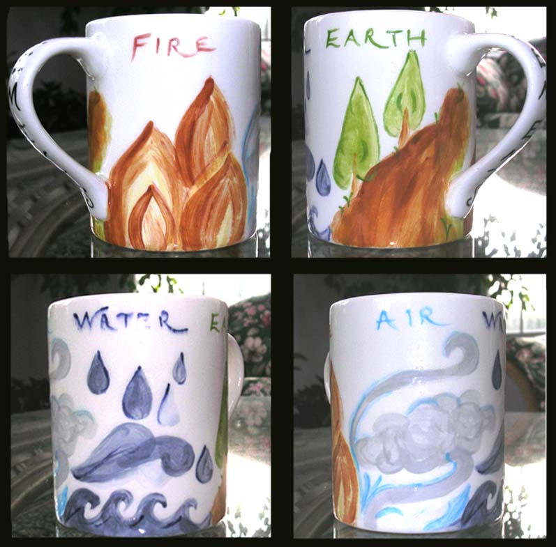 Elements: Mug by maridawood
