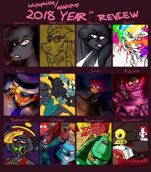 2018 Review by ddddspup