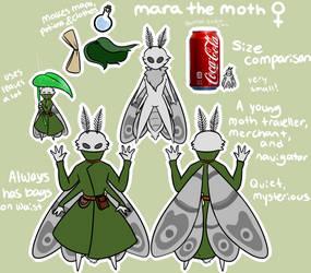 Mara The Moth by ddddspup