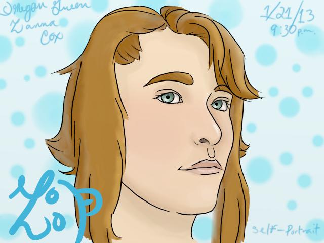 Self-Portrait by ZannaCox