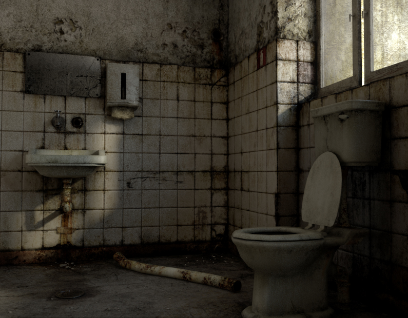 dirty bathroom by mediamerc on deviantart