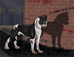 Pit bull Abuse by NavvvyWolf