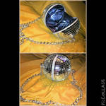discoball purse by red-eye-tree-frog