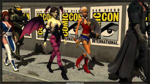 Barrissoka go to Comic Con by Crimsonight