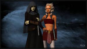 Early Clone Wars Barrissoka by Crimsonight