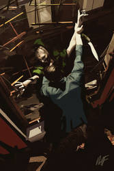 Green Lama Sherlock Holmes Interior