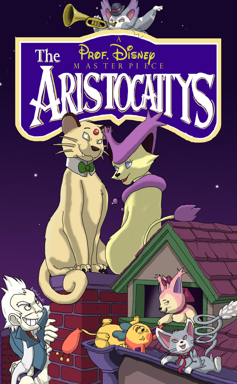 Aristocattys - Disnemon(1970) by MrOtterson