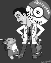 Professor Walt Disney by MrOtterson
