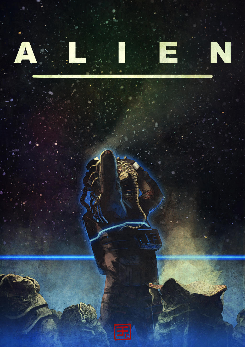 Alien by Syrphin