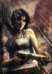 Lara's first gun