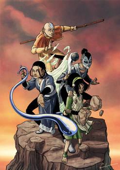 Avatar - FanArt for a friend