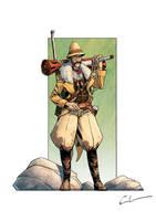 Steampunk Explorer by Syrphin