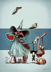 Character Design Challenge - Wizards and Witches