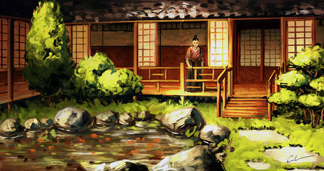 Japanese House by Syrphin