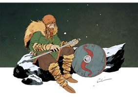 Viking - Character Design Challenge by Syrphin