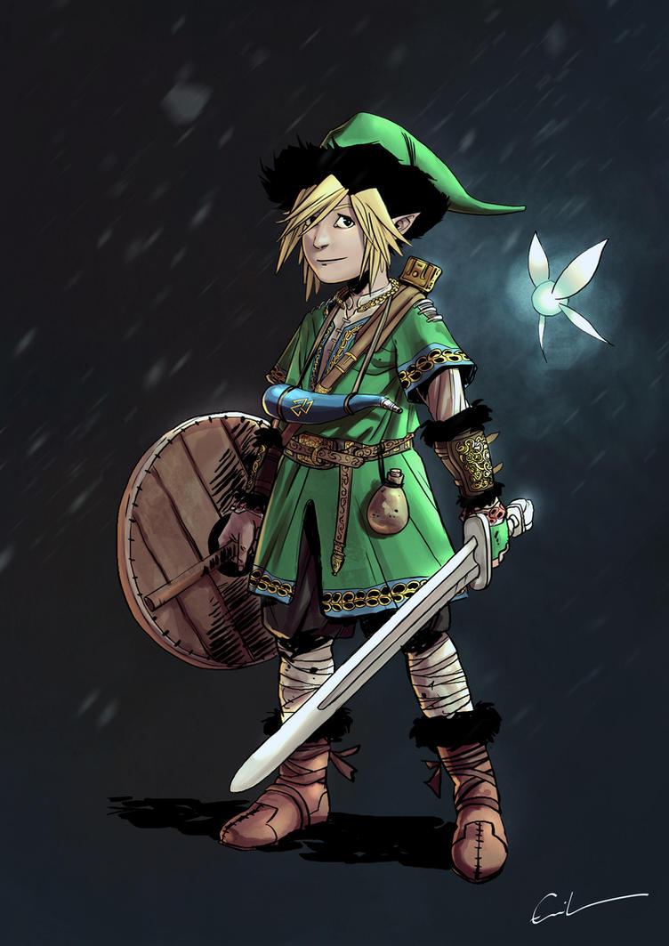 Character Design Challenge Zelda : Character design challenge legend of zelda by syrphin on