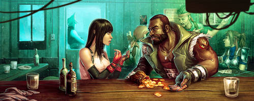 FFVII - That Money is for Marlene by Syrphin