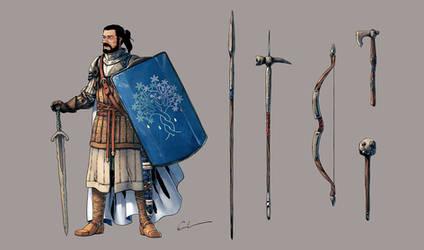 Baron Alistair d'Entrelac de Persaison by Syrphin