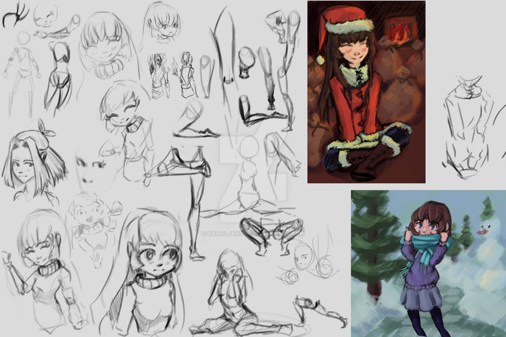 Sketches/doodles/artsies by Karoljartur
