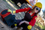 Team Fortress 2 - Female Engineer (3) by Domadraghi