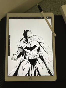 WIP Batman ink