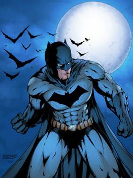 Batman Colored