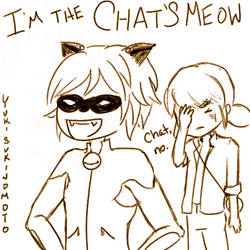 He's the Chat's Meow