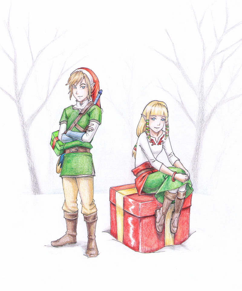 LoZ Christmas Gifts by vasira