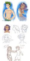 Mertails doodles