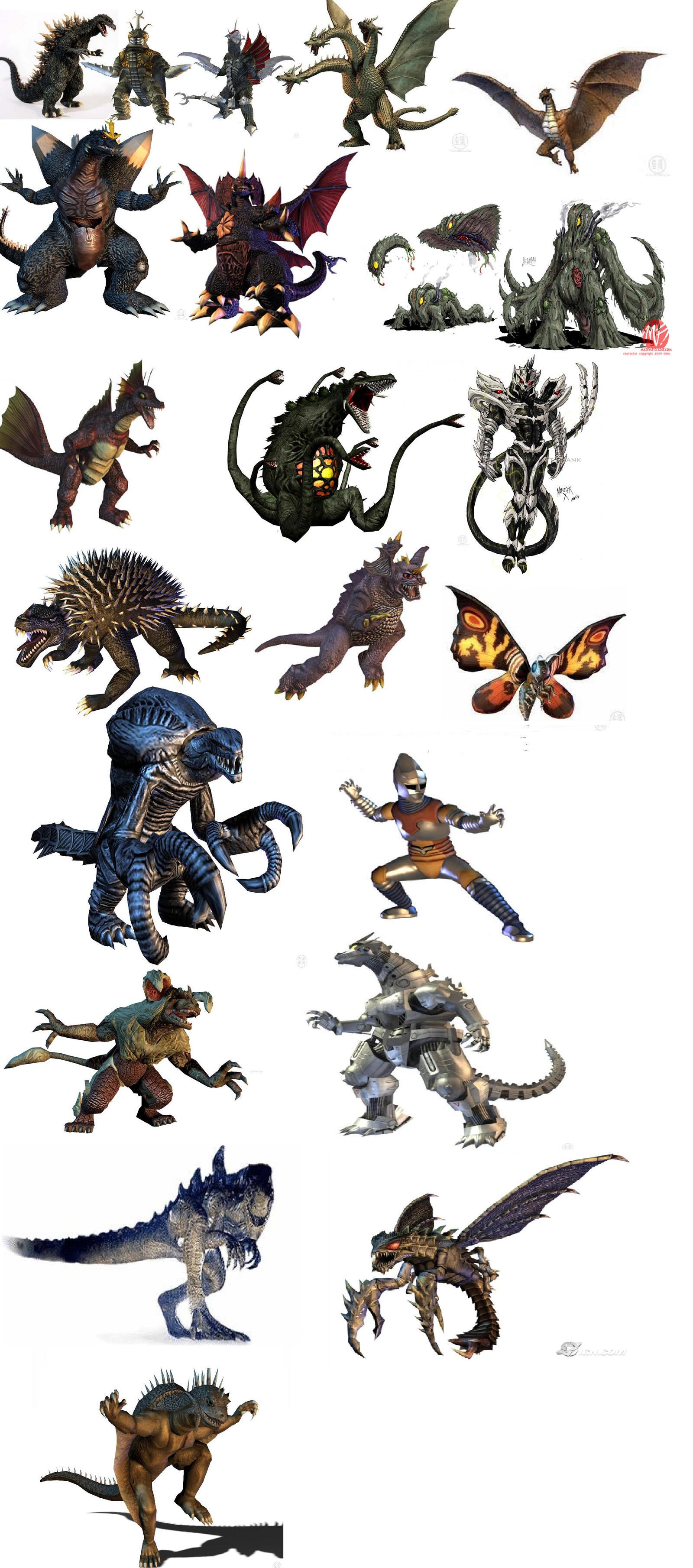 2014 Godzilla New Monsters Autos Post