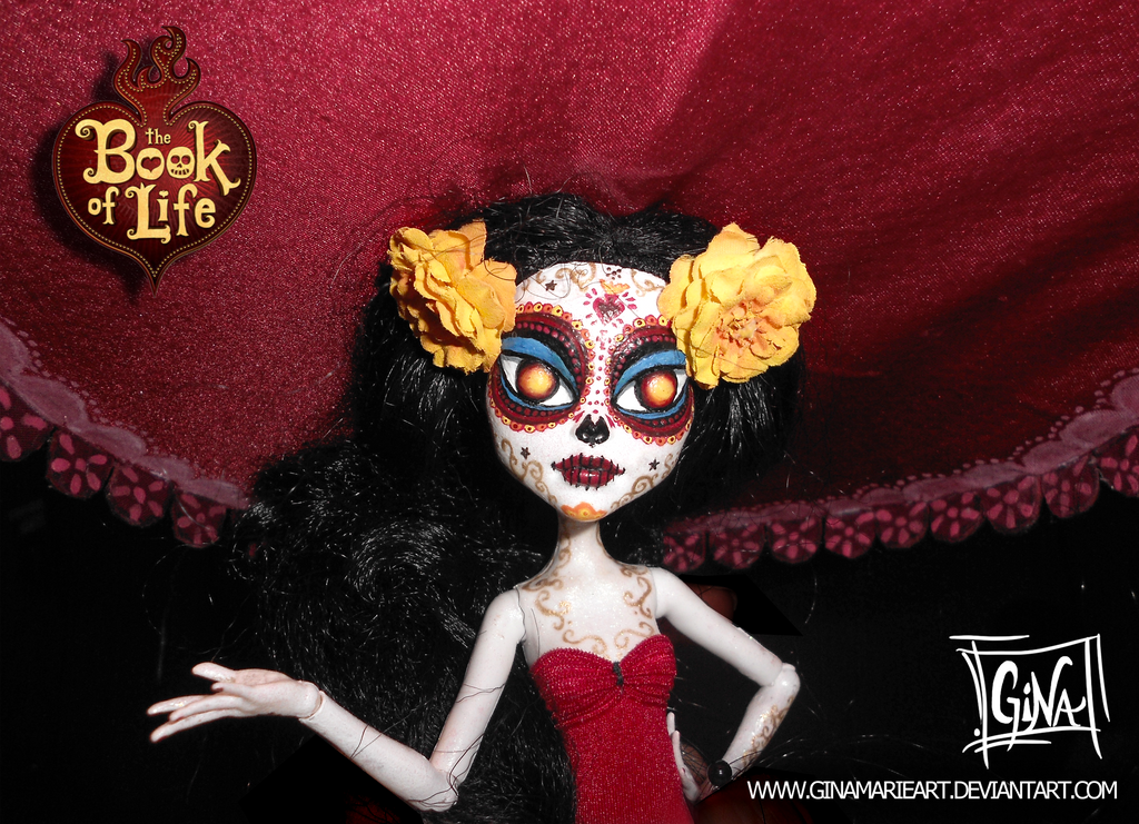 The Book Of Life Dolls