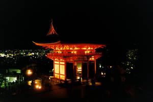 Shrine By Night
