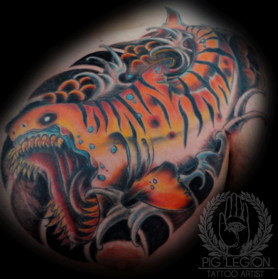 Tiger Shark Tattoos Tiger Shark Finished by
