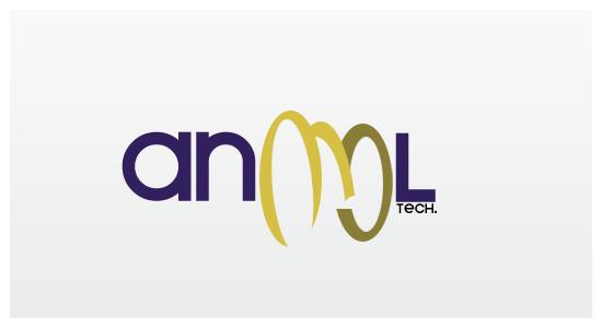 AnmolTech Logo By Xmod