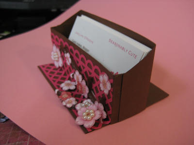 Handmade business card holder by seasonablycute on deviantart handmade business card holder by seasonablycute colourmoves